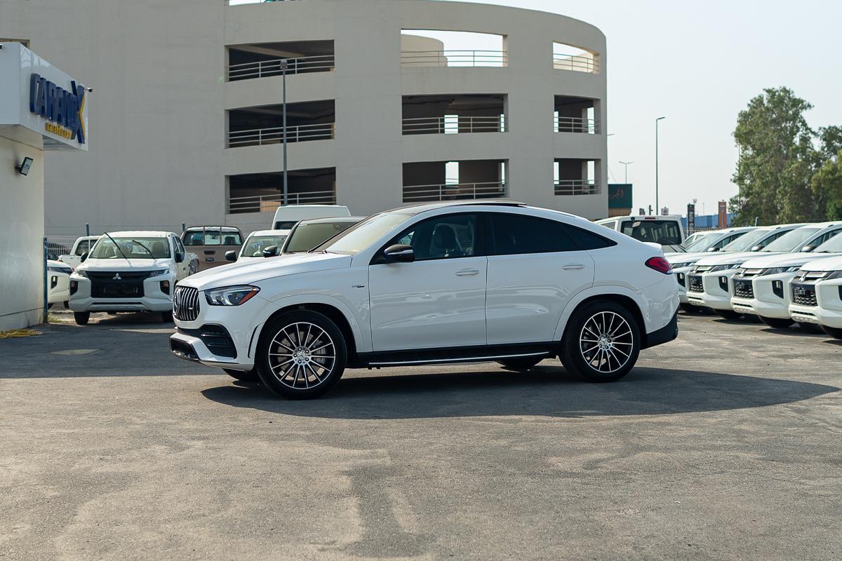 Mercedes-Benz GLE 53 AMG 2021 Polar White