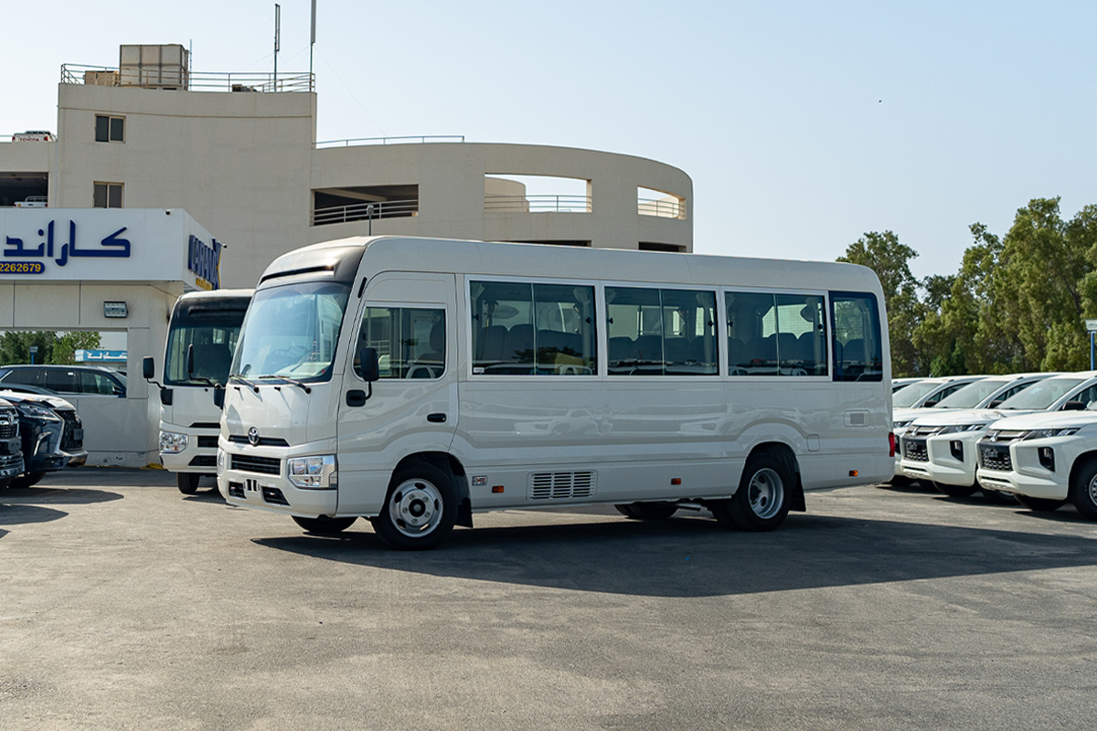 Toyota Coaster Hi Roof 23 Seater 4.2L