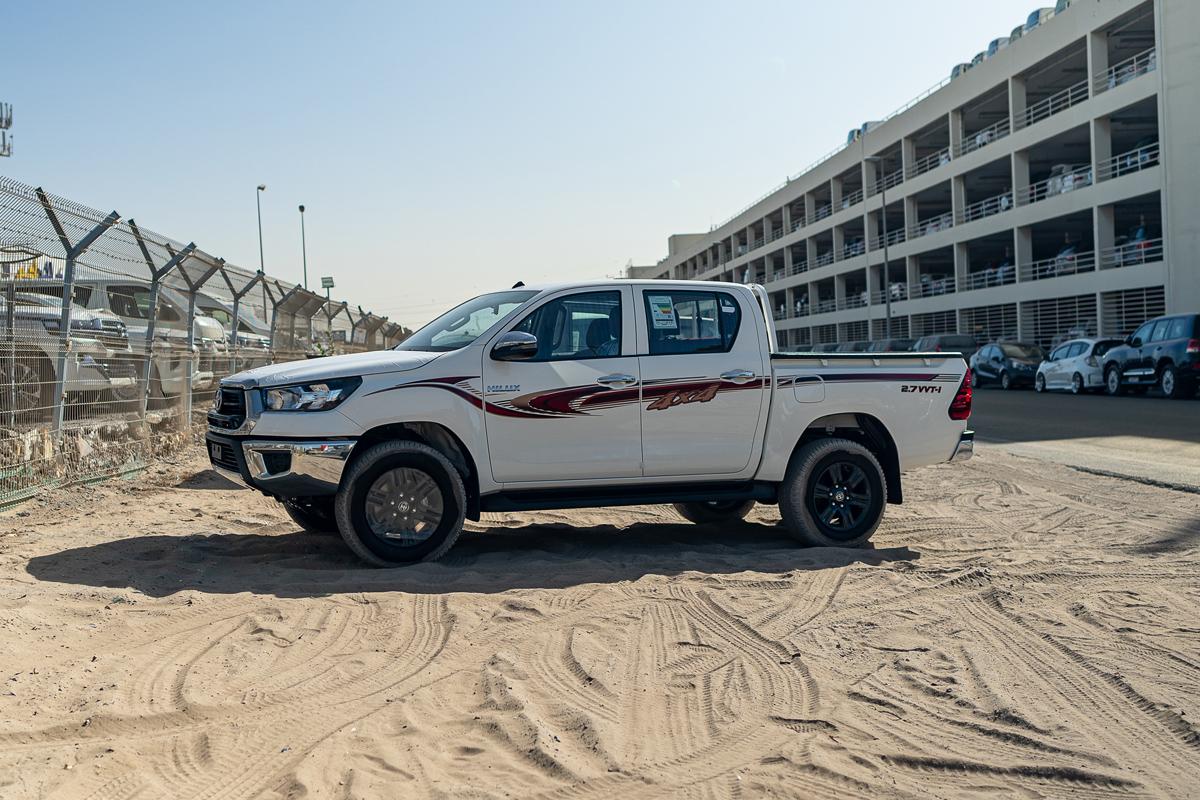 Toyota Hilux GLS-G 2.7L Petrol Double Cabin 4x4 Automatic Transmission 2021