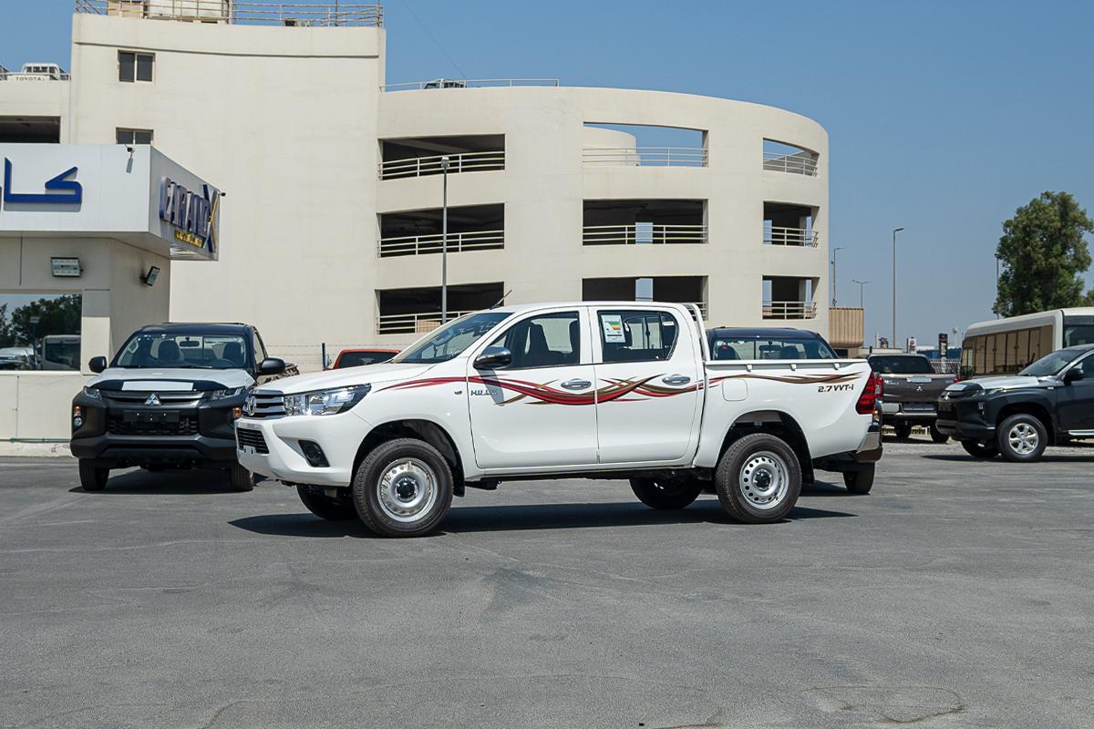 Toyota Hilux 2.7L Petrol Double Cabin Manual Transmission 4x4 2021