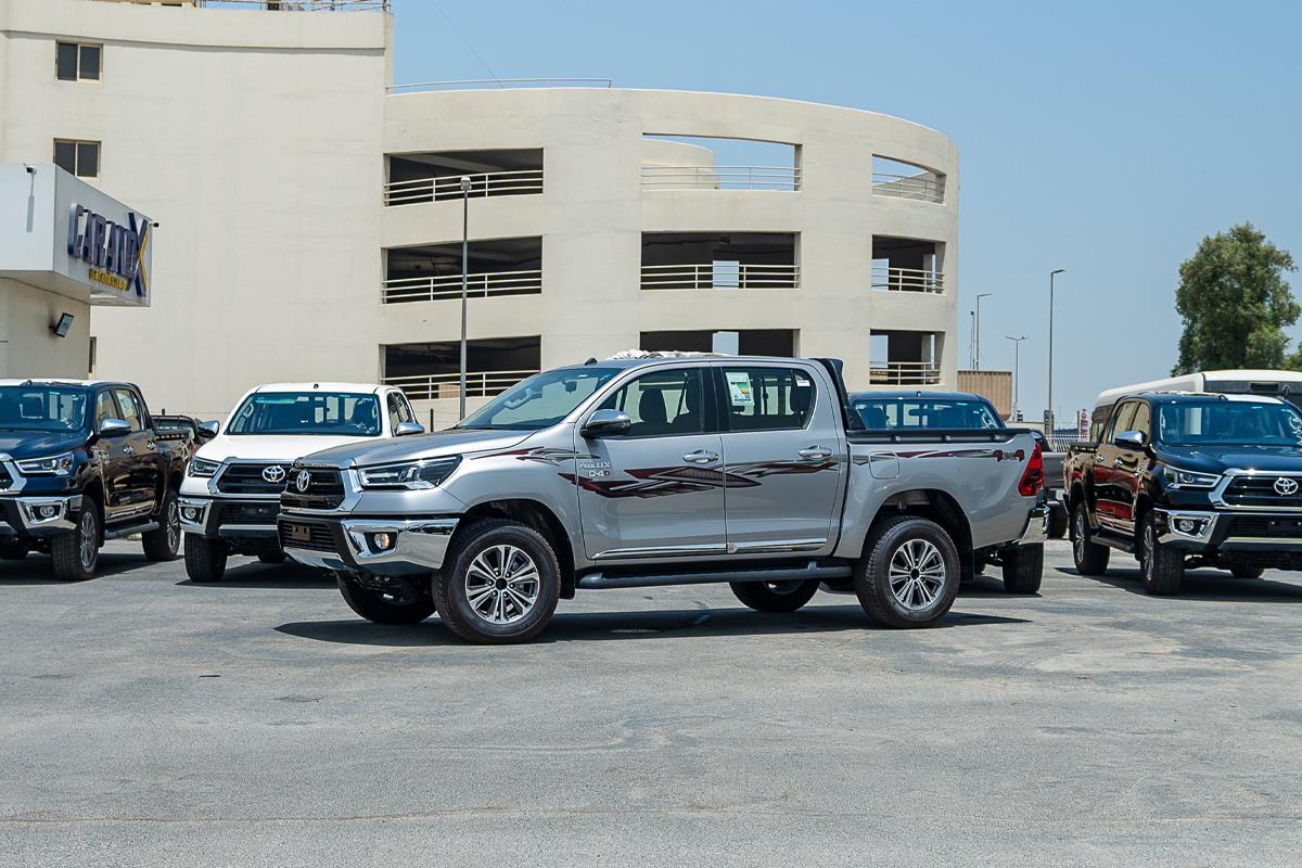 Toyota Hilux SGLX 2.4L Diesel Manual Transmission Double Cabin 4x4 2021