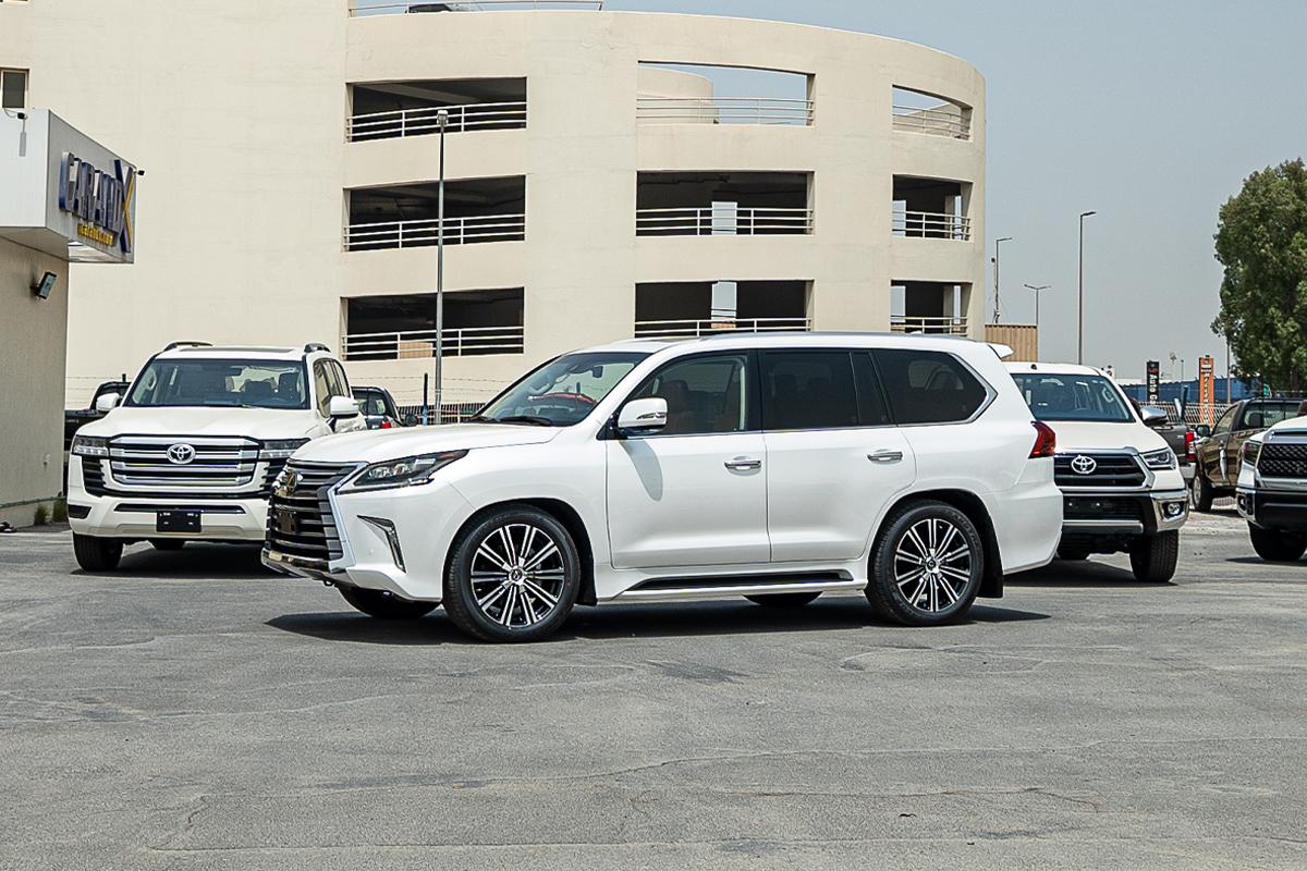Lexus LX570 5.7L Petrol Automatic Transmission 2021