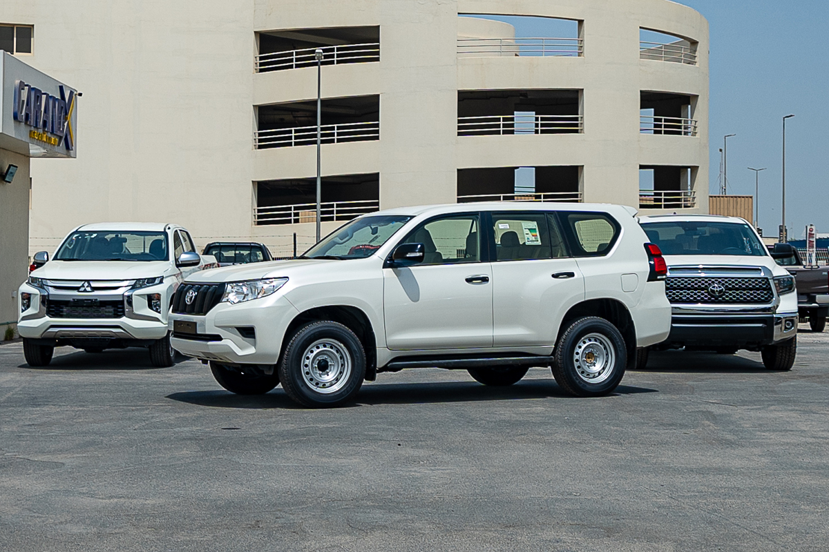 Toyota Prado TX 2.7L Petrol Automatic Transmission 2020