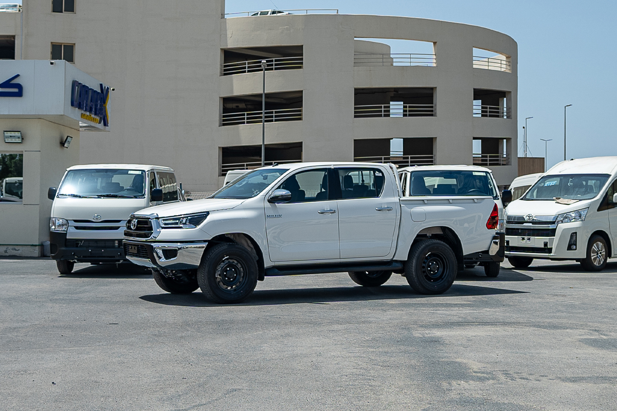 Toyota Hilux 2.4L Diesel Double Cabin 4x4 Manual Transmission 2021