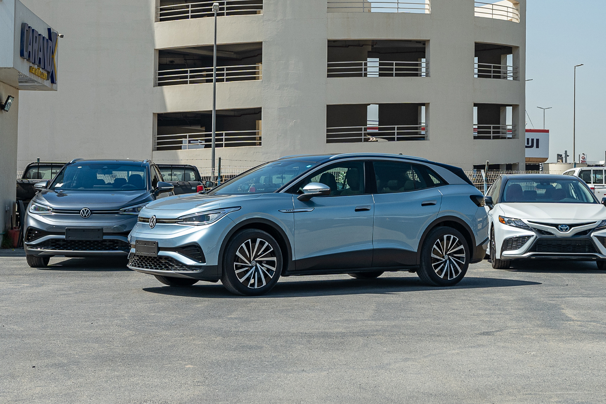 Volkswagen ID.4 Pure+ 2021 Blue